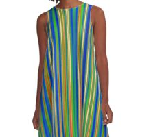 Abstract 130716(03) A-Line Dress