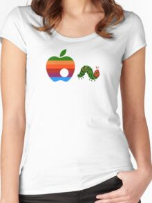 Very Hungry for Apple Women's Fitted Scoop T-Shirt