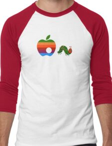 Very Hungry for Apple Men's Baseball ¾ T-Shirt