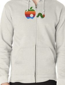 Very Hungry for Apple Zipped Hoodie