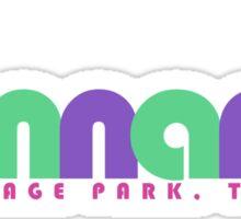 Bonnaroo Music and Arts Festival Sticker