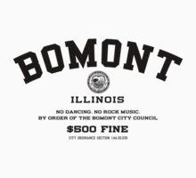 Bomont, IL No Dancing Ordinance Kids Tee