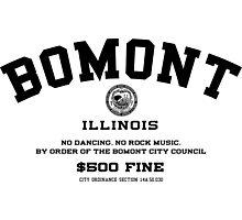 Bomont, IL No Dancing Ordinance Photographic Print