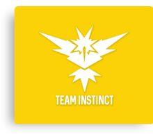Team Instinct - Pokémon Go Canvas Print