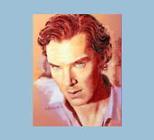 Benedict Cumberbatch Artwork Design 1 Womens Fitted T-Shirt