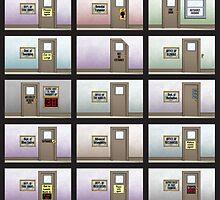 Evil Inc Doors by guigar