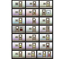 Evil Inc Doors Photographic Print