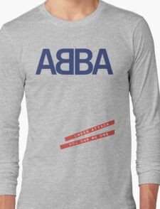 ABBA Under Attack Long Sleeve T-Shirt