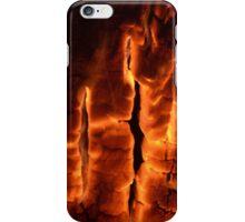 Burning Wood iPhone Case/Skin