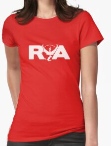 Team Valor RVA - White - Logo Only Womens Fitted T-Shirt