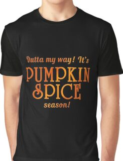 PUMPKIN SPICE Humor Graphic T-Shirt