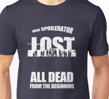 lost ( the spoilerator)   Unisex T-Shirt