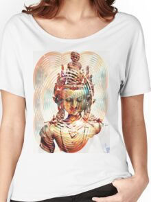 Dakini Goddess Copper Mirror Women's Relaxed Fit T-Shirt