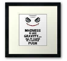 Gravity (CHIBI) Framed Print