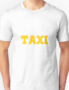 TAXI yellow T-Shirt