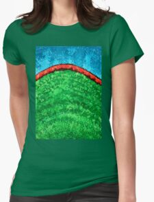 Dawn Is Coming original painting Womens Fitted T-Shirt
