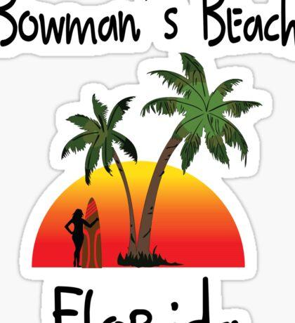 Bowman's Beach Florida Sticker
