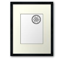 It all started with a ... Framed Print