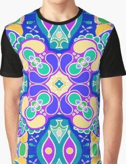 Colorful Abstract Pattern Graphic T-Shirt