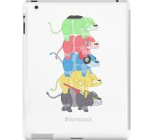 Lion Stack iPad Case/Skin
