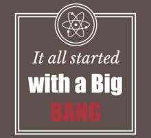 The Big Bang Theory Baby Tee