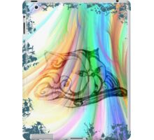 Cat with the Dog's  spirit iPad Case/Skin