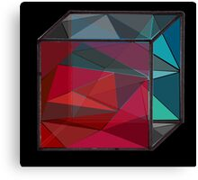 Glass Cube Canvas Print