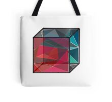Glass Cube Tote Bag
