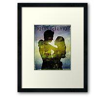 Rhys & Feyre ACOMAF Framed Print