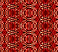 Tartan Mess - Red by ifourdezign