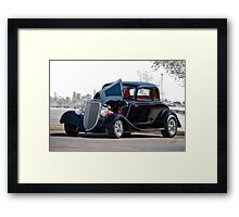 1934 Ford 'Five Window' Coupe Framed Print