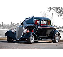 1934 Ford 'Five Window' Coupe Photographic Print