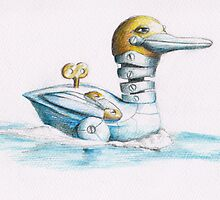 A wind up duck by Michael Alesich