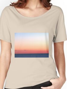 Lake Ontario Sunrise Women's Relaxed Fit T-Shirt
