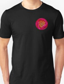 Pink and yellow explosion Unisex T-Shirt