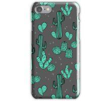 Cactus - by Andrea Lauren iPhone Case/Skin