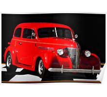 1939 Chevrolet 'Two Door' Sedan Poster