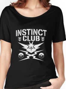 Instinct Club Women's Relaxed Fit T-Shirt