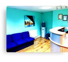 Office Area Canvas Print