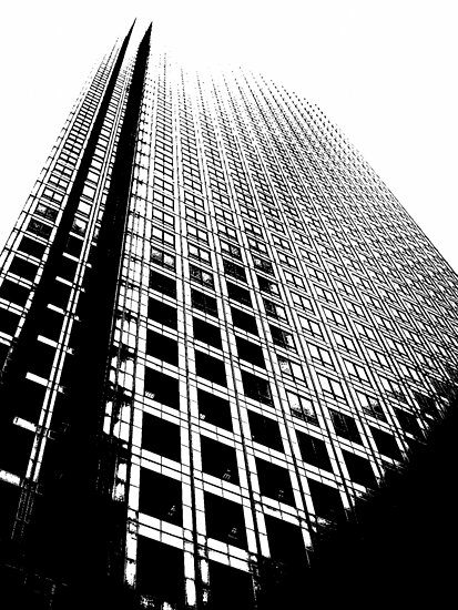 One Canada Square by Iain McGillivray