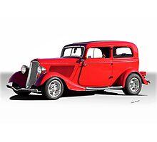 1934 Ford Tudor Sedan Photographic Print