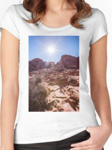 Valley of Fire State Park, Nevada Women's Fitted Scoop T-Shirt