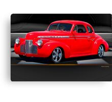 1941 Chevrolet 'Winners Circle' Coupe Canvas Print