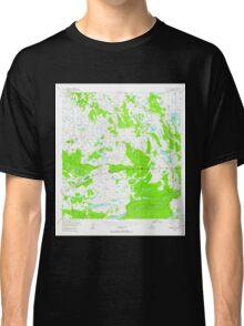 USGS TOPO Map Alaska AK Gulkana A-5 355770 1949 63360 Classic T-Shirt