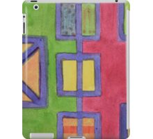 Red-Green Contrast iPad Case/Skin