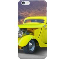 1934 Ford 'Chopped Top' Coupe III iPhone Case/Skin