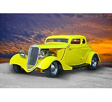 1934 Ford 'Chopped Top' Coupe III Photographic Print