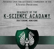 K-Science Acadamy Graduate Certificate  by Rizwanb