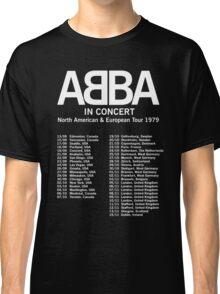 ABBA 1979 Tour Classic T-Shirt