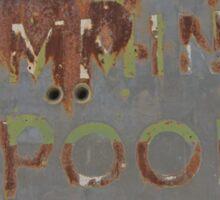 Swimming Pool Sticker